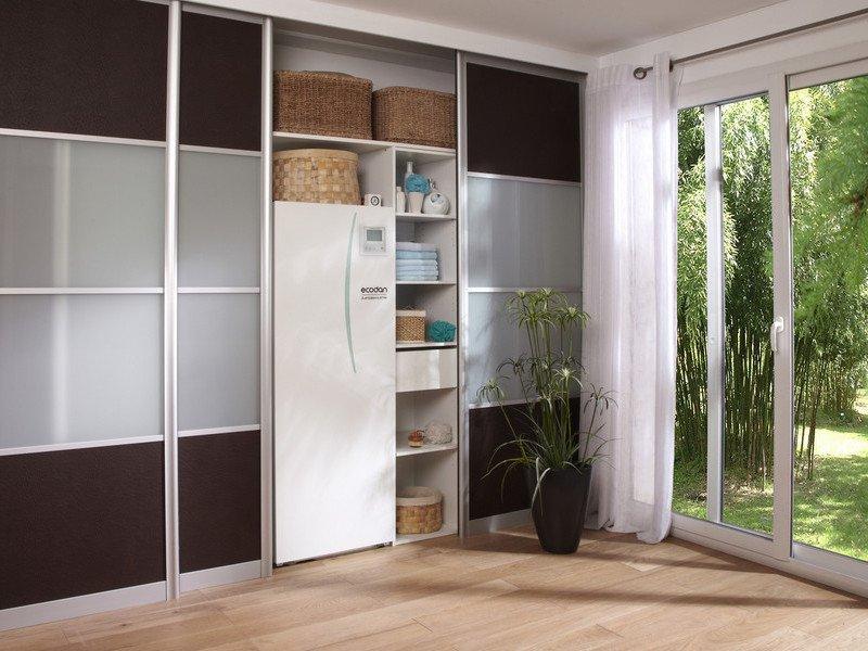 pac ecodan hydrobox duo split 40m2 mitsubishi puhz. Black Bedroom Furniture Sets. Home Design Ideas