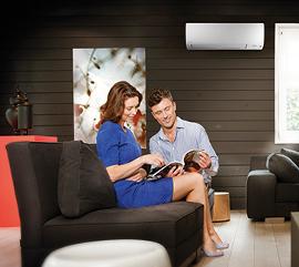 climatisation r versible pour une pi ce soluclim. Black Bedroom Furniture Sets. Home Design Ideas