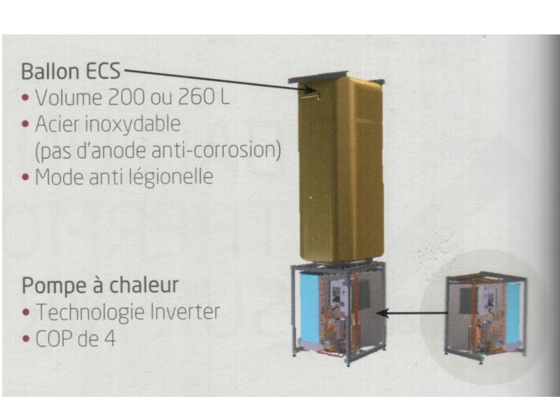chauffe eau thermodynamique 200 litres daikin. Black Bedroom Furniture Sets. Home Design Ideas