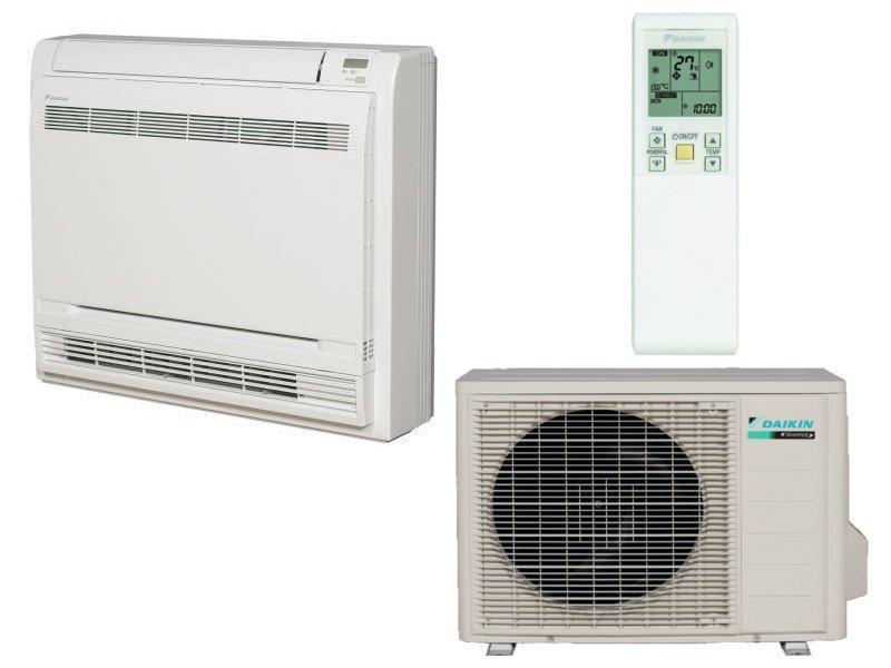 climatisation r versible fvxs50f rxs50k console double flux daikin. Black Bedroom Furniture Sets. Home Design Ideas