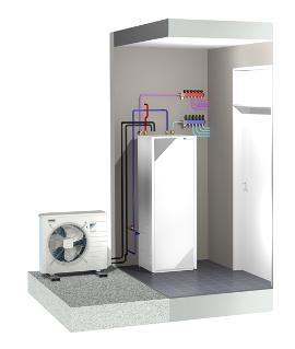 Pompe chaleur monobloc air eau soluclim page 1 - Pompe a chaleur monobloc interieur ...