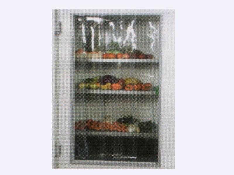 Rideau à lanière pour porte de chambre froide - COLDKIT