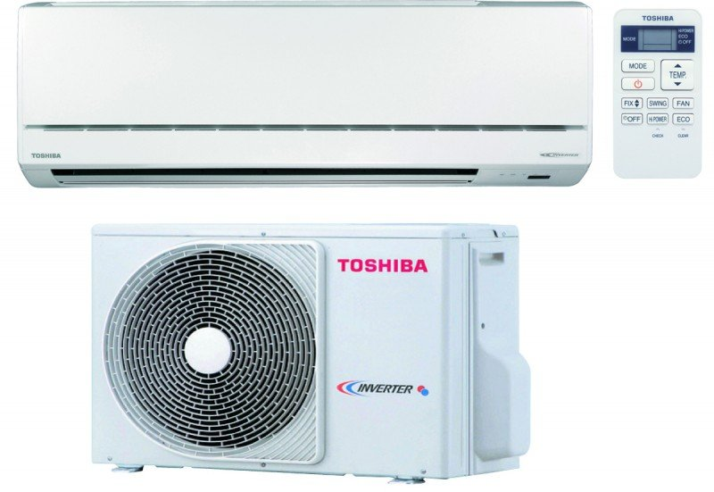 Climatisation r versible avant ras 077sav e5 toshiba for Climatiseur mural toshiba carrier