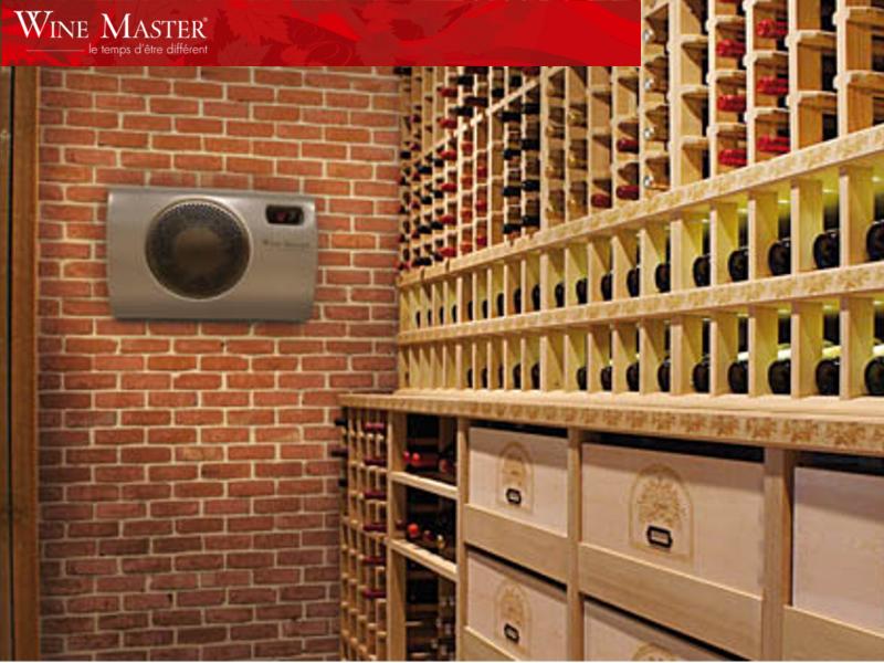 Climatiseur De Cave Vin Monobloc Encastrable Winec25s